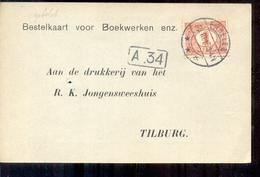 Tilburg - Boekwergken R K Jongensweeshuis - 1916 - Tilburg