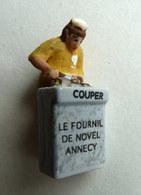 FEVE PUBLICITAIRE PERSO LE FOURNIL DE NOVEL ANNECY (74) - Olds