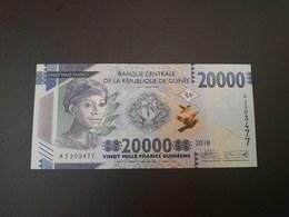 GUINEA 20 000 FRANCS 2018. UNC - Guinea