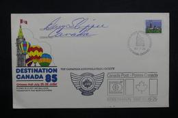 CANADA - Enveloppe Par Ballon En 1985, Voir Cachets  - L 31919 - Covers & Documents