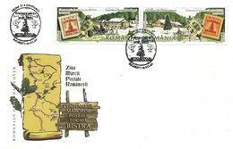 Romania 2007 FDC Bistra Stamp Day - 1948-.... Republics