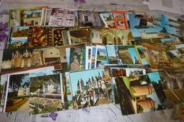 LOT DE 160 CARTES CHÂTEAUX DE FRANCE - Cartes Postales
