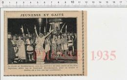 Presse 1935 La Horde De Montparnasse Boulevard Montparnasse Bal Traditionnel à Bulliet Paris 226S - Vieux Papiers