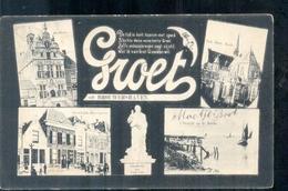 Brouwershaven - Groet Uit - 1906 - Pays-Bas