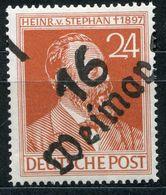 SBZ Bezirkshandstempelt Mi. 3a III ** Auf Kontrollrat 24 Pfg.Altsignatur(DDR) Mi. 120.-€ - Sowjetische Zone (SBZ)