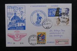 BELGIQUE - Enveloppe Par Ballon En 1989, Voir Cachets  - L 31925 - Belgium