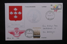 BELGIQUE - Enveloppe Par Ballon En 1988, Voir Cachets  - L 31926 - Belgium