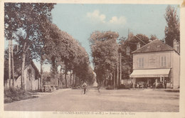 77 Guignes Rabutin :  Avenue De La Gare        /// REF  JUIN .19 - Frankrijk