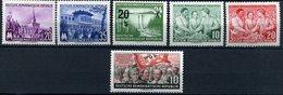DDR Michel Nr. 447 - 452 Postfrisch Aus Jahr 1955 - DDR