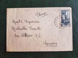(41128) STORIA POSTALE  ITALIA 1952 - 6. 1946-.. Repubblica