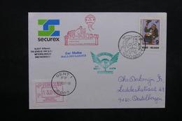 BELGIQUE - Enveloppe Par Ballon En 1989, Voir Cachets  - L 31928 - Belgium