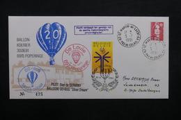 BELGIQUE - Enveloppe Par Ballon En 1991, Voir Cachets  - L 31929 - Covers & Documents