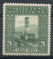 Austria Bosnia And Herzegovina 1910 Mi. 59 MH 100% 2 Kr, Landscapes - Bosnia And Herzegovina