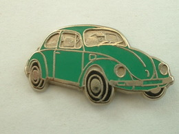 PIN'S VOLKSWAGEN COX - VERTE  - ZAMAC - Volkswagen
