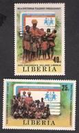 LIBERIA - SOS CHILDREN'S VILLAGE, PRESIDENT, Complete Set Of 2V MNH - Liberia