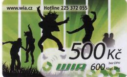 Czech Republic, Wia Prepaid Card, Internet Card 500 Kč - Tchéquie