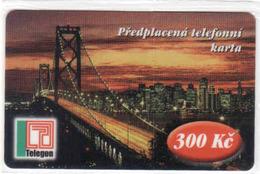 Czech Republic, Telegon Prepaid Card 300 Kč - Tchéquie