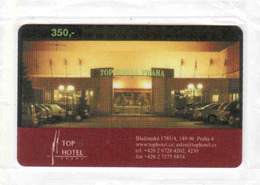 Czech Republic, Top Hotel Praha Prepaid Card 350 Kč Mint In Blister, New Telekom - Tchéquie