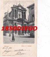 PARMA - CHIESA S. GIUSEPPE F/PICCOLO VIAGGIATA  ANIMAZIONE - Parma