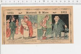 2 Scans Humour Allaitement Bébé Lait Qui Tourne Nourrice Chevaux De Bois Carrousel Avaleur De Sabre 226S - Vieux Papiers