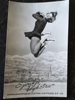 Figure - Kunstschaatsen // Sjoukje Dijkstra World Champion Cortina D Ampezzo 1963 - Figure Skating