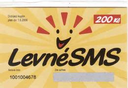 Czech Republic, LevneSMS 200 Kč Mint In Blister, - Tchéquie