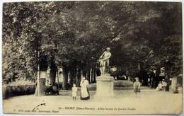 79 - NIORT (Deux Sèvres) - Allée Haute Du Jardin Public - Niort