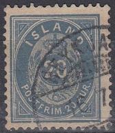 ISLANDIA 1882 Nº 14 USADO TIPO B DENTADO 121/2 - Gebraucht