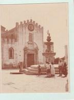 TAORMINA TAORMINE Août 1926 Photo Amateur Format Environ 6,5 Cm X 5,5 Cm - Lieux