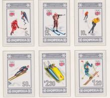 Albania 1976 Innsbruck Olympic Games 6 Stamps MNH/** (H54) - Winter 1976: Innsbruck