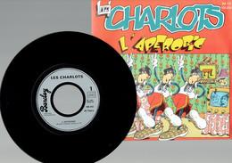 Les Charlots : L'Apérobic + Réflexions Napoléoniennes Sur La Table (Barclay 1983) - Disco, Pop