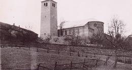 Seltene Alte Foto- AK  TÜNSDORF / Saarland - Teilansicht Mit Pfarrkirche ST. MARTIN - 1950 Ca. - Kreis Merzig-Wadern