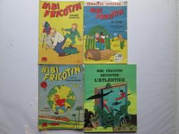 4 Livres De  Bibi Fricotin - Andere Magazine