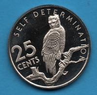 GUYANA 25 CENTS 1976 KM# 40 Aigle Harpy - Guyana