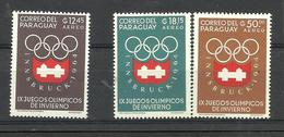 PARAGUAY OLIMPIC MICHEL 1254/6 MNH, GOOD ! - Paraguay