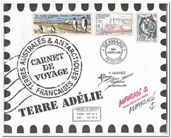 Frans Antarctica 2001, Postfris MNH, Carnet De Voyage ( Booklet, Carnet ) - Boekjes