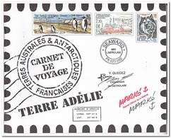 Frans Antarctica 2001, Postfris MNH, Carnet De Voyage ( Booklet, Carnet ) - Carnets