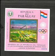 PARAGUAY OLIMPIC MICHEL BL. 142 SPECIMEN MNH - Paraguay