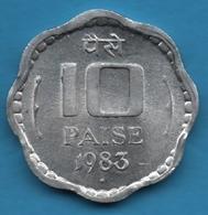 INDIA 10 PAISE 1983 ♦KM# 39 Mumbai Mint - Inde