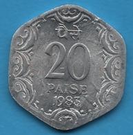 INDIA 20 PAISE 1983KM# 44 Calcutta Mint - Inde