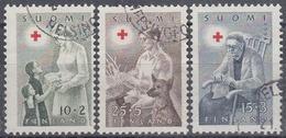 FINLANDIA 1954 Nº 405/07 USADO - Finlandia