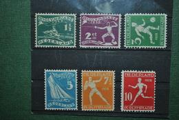 Pays-Bas 1928 MH 1 1/2  C : Papier Sale - Neufs