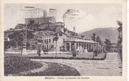 Cartolina Viaggiata 1926 Brescia - Veduta Occidentale Del Castello - Brescia