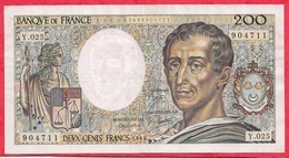 "France 200 Francs ""Montesquieu"" 1984----VG/TTB---ALPH .Y.025 - 1962-1997 ''Francs''"