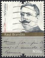 Portugal 2017 Oblitéré Used Écrivain Raul Brandão SU - 1910 - ... Repubblica