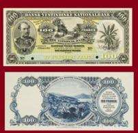 Danish West India 100 Frans 1905 - Denmark