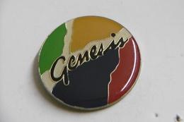 Pin's - Musique GENESIS Célèbre Groupe De Musique ROCK - Musique