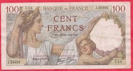 "France 100 Francs ""Sully"" Du 18/12/1941.FQ----F/TTB+---ALPH .J.26992 - 100 F 1939-1942 ''Sully''"