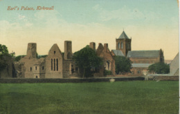 ORKNEYS - KIRKWALL - EARLS PALACE 1911 Sci10 - Orkney