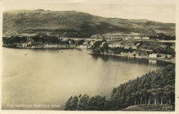 SKYE - PORTREE - THE HARBOUR RP Sci4 - Inverness-shire
